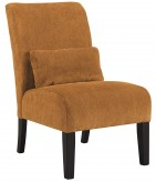Ashley Annora Orange Accent Chair Available Online in Dallas Fort Worth Texas