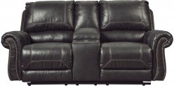 Ashley Milhaven Black Loveseat ... Available Online in Dallas Fort Worth Texas