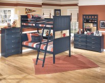 Leo 5pc Twin Bunk Bedroom Group Available Online in Dallas Fort Worth Texas