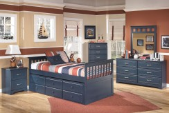 Ashley Leo 5pc Twin Trundle Bed... Available Online in Dallas Fort Worth Texas
