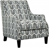 Gilmer Gunmetal Accent Chair Available Online in Dallas Fort Worth Texas