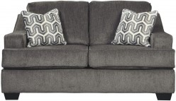Gilmer Gunmetal Loveseat Available Online in Dallas Fort Worth Texas