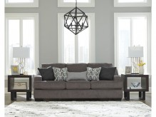 Ashley Gilmer Gunmetal Sofa Available Online in Dallas Fort Worth Texas