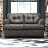 Ashley Inmon Charcoal Loveseat Available Online in Dallas Fort Worth Texas