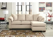 Ashley Darcy Stone Sofa Chaise Available Online in Dallas Fort Worth Texas