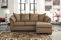 Darcy Mocha Sofa Chaise Available Online in Dallas Fort Worth Texas