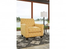 Ashley Ayanna Nuvella Yellow Accent Chair Available Online in Dallas Fort Worth Texas