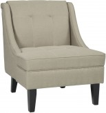 Ashley Calicho Ecru Accent Chair Available Online in Dallas Fort Worth Texas