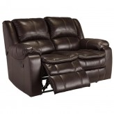 Ashley Long Knight Reclining Power Loveseat Available Online in Dallas Fort Worth Texas