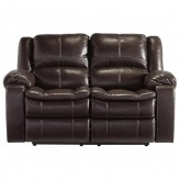 Ashley Long Knight Reclining Loveseat Available Online in Dallas Fort Worth Texas