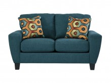 Ashley Sagen Teal Loveseat Available Online in Dallas Fort Worth Texas