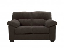 Ashley Zorah Chocolate Loveseat Available Online in Dallas Fort Worth Texas