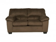 Dailey Chocolate Loveseat Available Online in Dallas Fort Worth Texas
