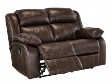 Ashley Branton Antique Reclining Power Loveseat Available Online in Dallas Fort Worth Texas