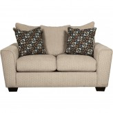Ashley Wixon Putty Loveseat Available Online in Dallas Fort Worth Texas