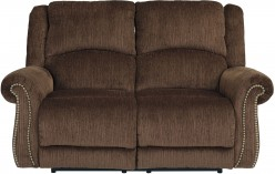 Goodlow Chocolate Power Reclining Loveseat Available Online in Dallas Fort Worth Texas