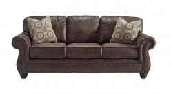 Ashley Breville Espresso Sofa Available Online in Dallas Fort Worth Texas