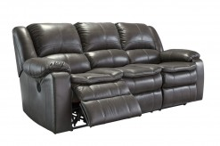 Ashley Long Knight Gray Reclining Sofa Available Online in Dallas Fort Worth Texas