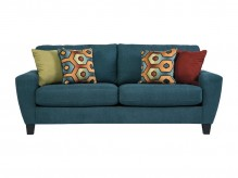 Ashley Sagen Teal Sofa Available Online in Dallas Fort Worth Texas