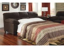 Ashley Zorah Chocolate Full Sofa Sleeper Available Online in Dallas Fort Worth Texas