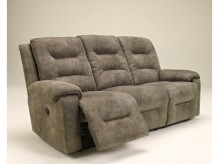 Rotation Smoke Reclining Power Sofa Available Online in Dallas Fort Worth Texas
