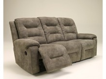 Ashley Rotation Smoke Reclining Sofa Available Online in Dallas Fort Worth Texas
