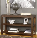 Ashley Grinlyn Rustic Brown Sofa Table Available Online in Dallas Fort Worth Texas