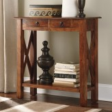 Ashley Abbonto Console Sofa Table Available Online in Dallas Fort Worth Texas
