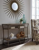 Ashley Nartina Light Brown Sofa Table Available Online in Dallas Fort Worth Texas