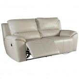 Ashley Valeton Cream Reclining Power Sofa Available Online in Dallas Fort Worth Texas