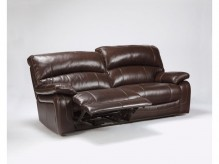 Ashley Damacio Dark Brown Reclining Sofa Available Online in Dallas Fort Worth Texas