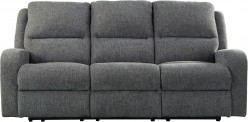 Ashley Krismen Charcoal Power Reclining Sofa Available Online in Dallas Fort Worth Texas