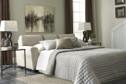 Calicho Ecru Queen Sofa Sleeper Available Online in Dallas Fort Worth Texas