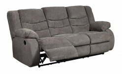 Ashley Tulen Gray Reclining Sofa Available Online in Dallas Fort Worth Texas