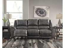 Ashley Persiphone Charcoal Reclining Power Sofa Available Online in Dallas Fort Worth Texas