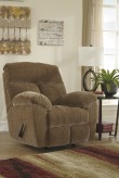 Ashley Hector Caramel Rocker Recliner Available Online in Dallas Fort Worth Texas