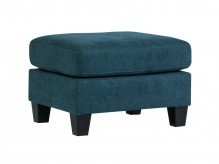 Ashley Sagen Teal Ottoman Available Online in Dallas Fort Worth Texas