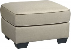Ashley Calicho Ecru Ottoman Available Online in Dallas Fort Worth Texas