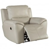 Ashley Valeton Cream Power Recliner Available Online in Dallas Fort Worth Texas