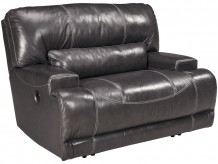 McCaskill Gray Wide Seat Power Recliner Available Online in Dallas Fort Worth Texas