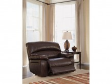 Damacio Dark Brown Zero Wall Power Recliner Available Online in Dallas Fort Worth Texas