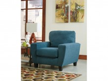 Ashley Sagen Teal Chair Available Online in Dallas Fort Worth Texas