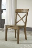 Ashley Trishley Light Brown Side Chair Available Online in Dallas Fort Worth Texas