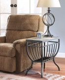 Ashley Antigo Chair Side Table Available Online in Dallas Fort Worth Texas