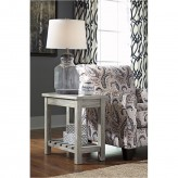 Ashley Veldar Whitewash Chair S... Available Online in Dallas Fort Worth Texas