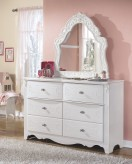 Ashley Exquisite French Style Mirror Available Online in Dallas Fort Worth Texas