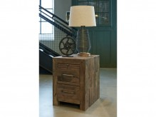 Ashley Sommerford Brown Chair Side Table Available Online in Dallas Fort Worth Texas