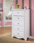 Ashley Exquisite Tall Chest Available Online in Dallas Fort Worth Texas