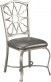 Ashley Shollyn Silver Side Chair Available Online in Dallas Fort Worth Texas