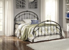 Nashburg King Metal Bed Available Online in Dallas Fort Worth Texas